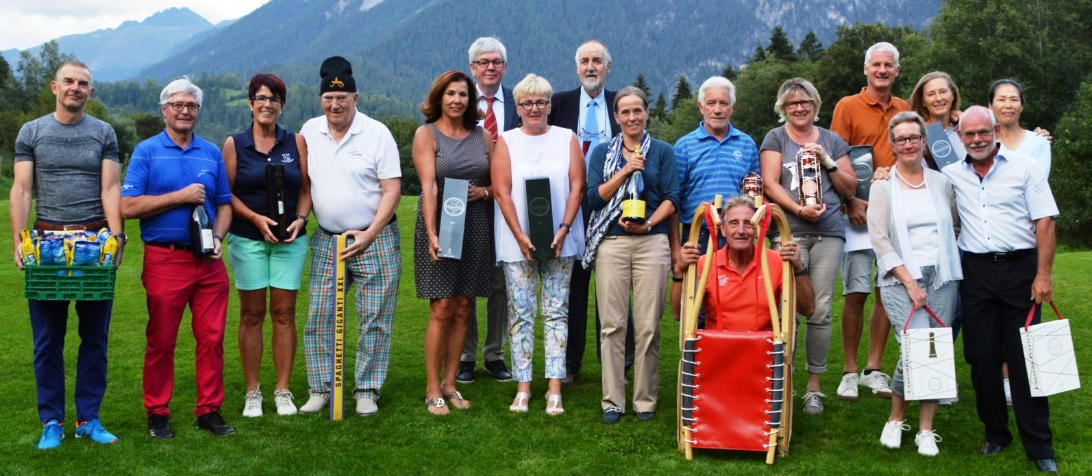 Albula Seniors Open - Sieger Teamwertung 2018